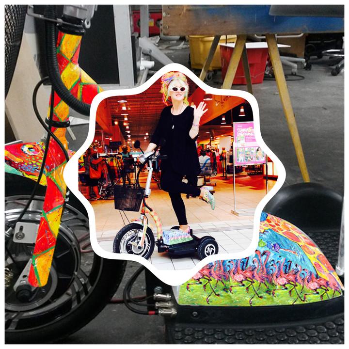 Leoma Lovegrove loved the EMU Trike®