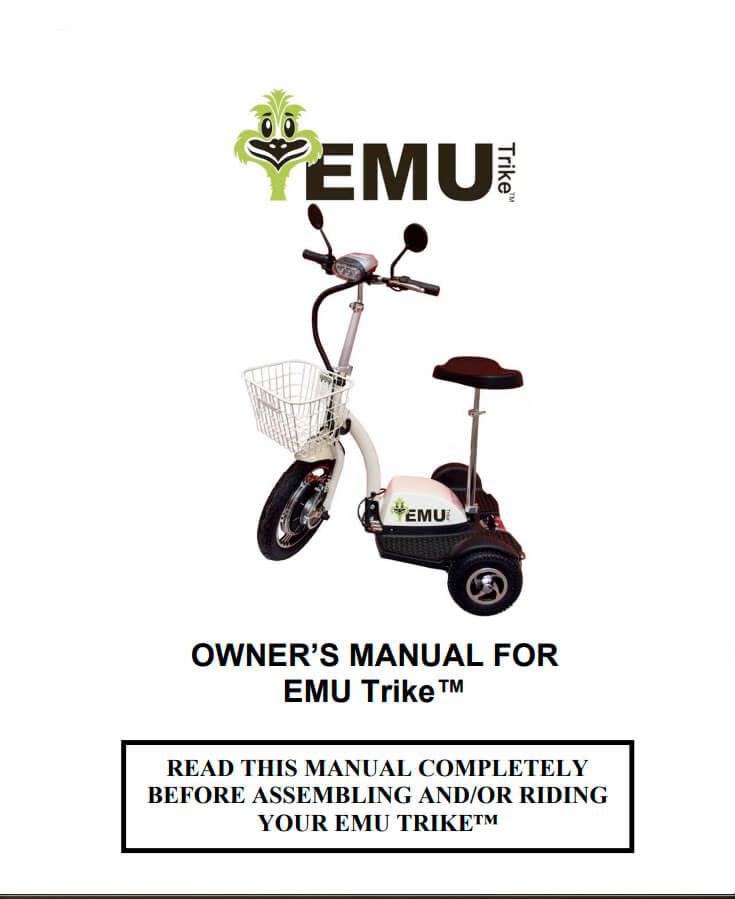 EMU trike manual pdf